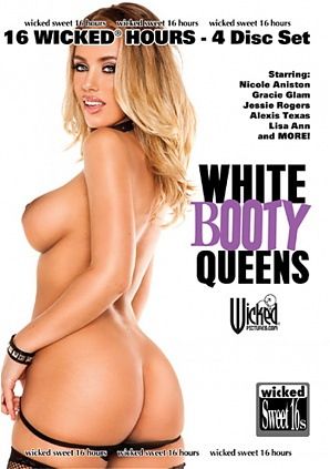 White Booty Queens (4 DVD Set) 16 hours