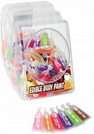 Edible Body Paints 10ml Display (105856.0)