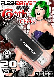20+ Goth Chicks 4gb Usb Fleshdrive (112647.59)