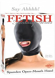 Fetish Fantasy Spandex Open Mouth Hood (114222.2)