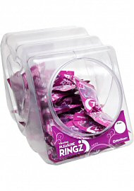 Vibrating Pleasure Ringz Disposable Cockring (120065.34)