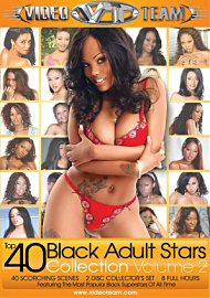 Top 40 Black Adult Stars Collection 2 (2 DVD Set) (135316.4)