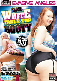 3xl White Table Top Booty 1 (136043.2)