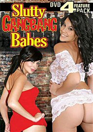 Slutty Gangbang Babes (4 DVD Set) (147824.1)