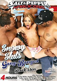 Snowy Sluts Gang-Banged By Black Men (155141.2)