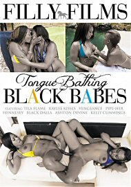 Tongue Bathing Black Babes (2018) (160711.6)