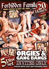 Orgies & Gang Bangs Invites Only - 20 Hours (5 DVD Set) (160815.12)