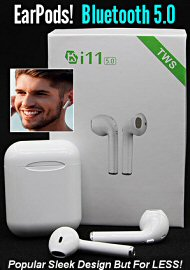 I11 Compact Earpods Bluetooth Earphone For Iphone / Android (180252.50)