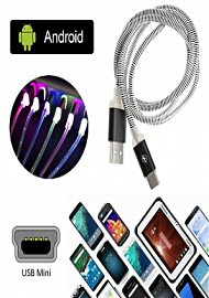 3' Led Charger Usb Mini For Android Various Colors (186818.100)