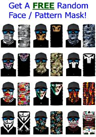 Free Face / Pattern Mask On Orders Of $30 Or More (40015.499)