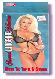 Mesh Tie Top And G-String (47116.2)