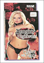 Naughty Nightwear Choker W/ Panty (47117.5)