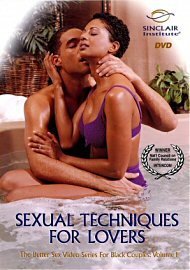 For Black Couples Vol.1: Sexual Techniques For Lovers (51349.9)
