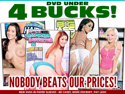 DVDs Under $4 Bucks In Sleeves