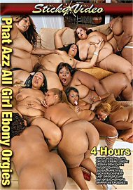 Phat Azz All Girl Ebony Orgies - 4 Hours (2017) (158872.2)